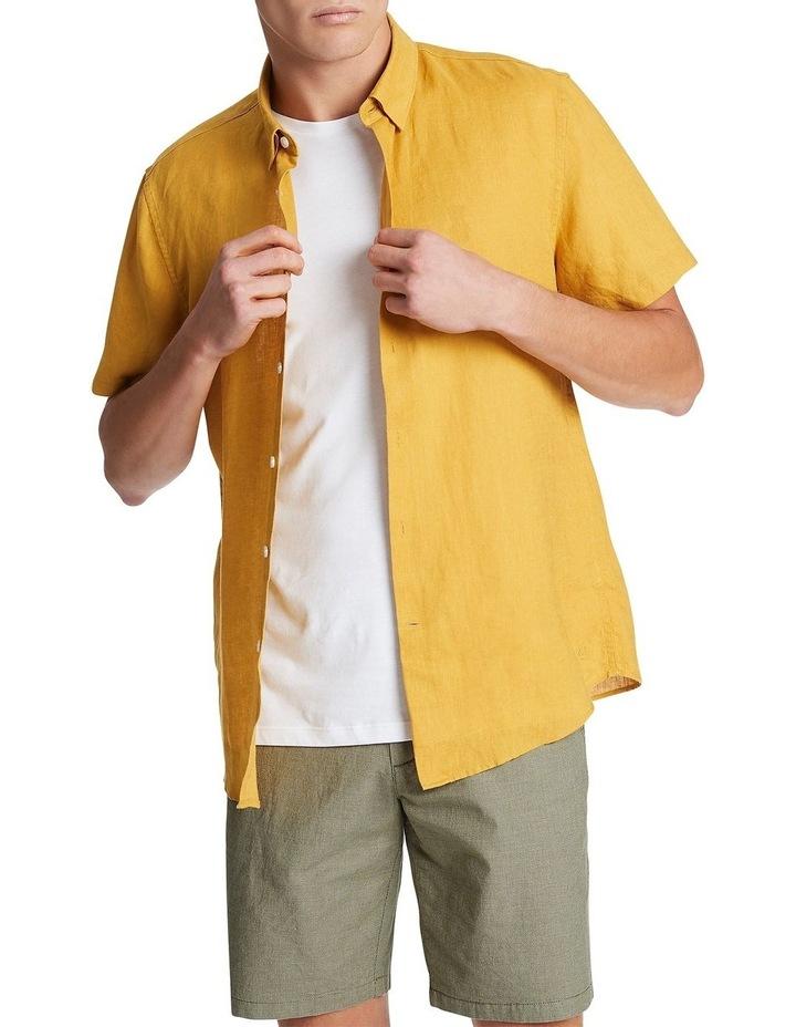 Felix Short Sleeve Linen Shirt image 1