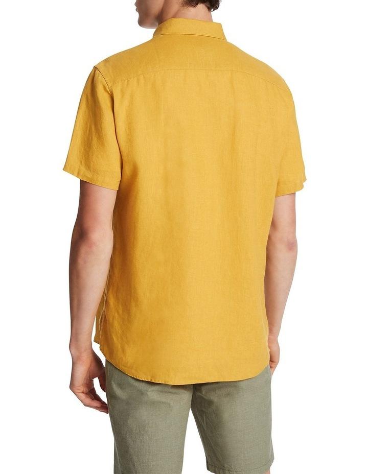Felix Short Sleeve Linen Shirt image 3