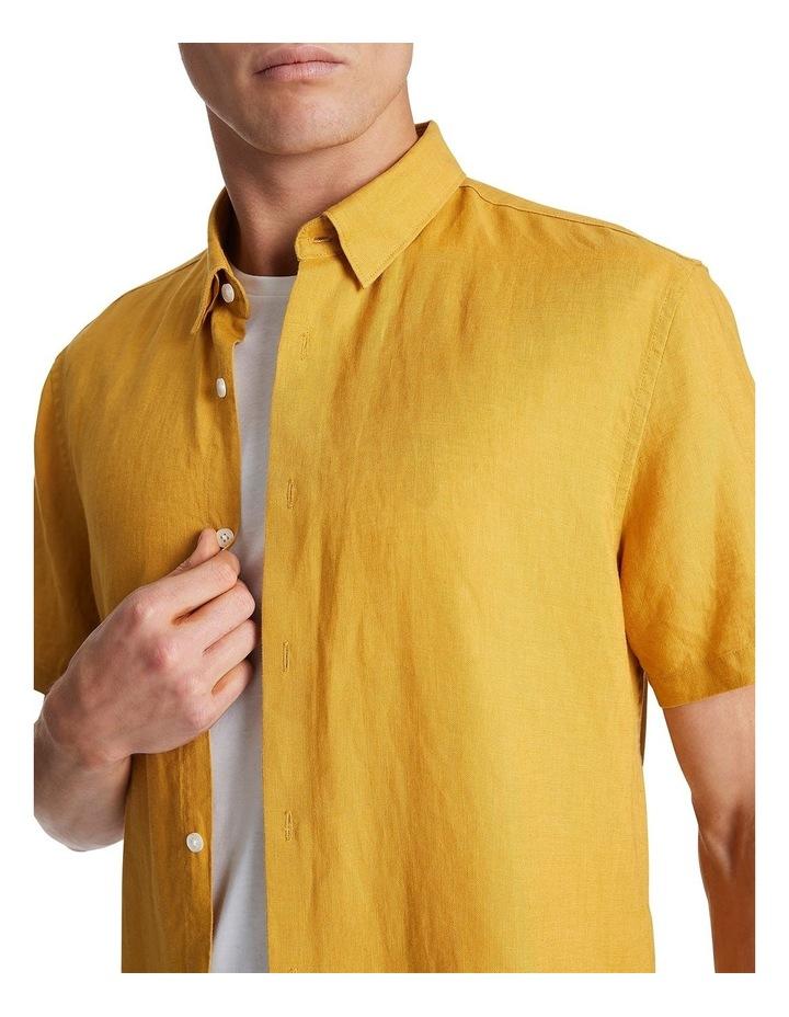 Felix Short Sleeve Linen Shirt image 4