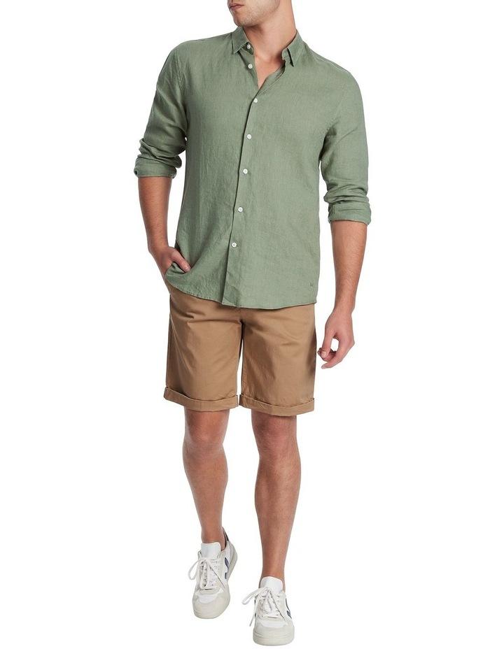 Felix Long Sleeve Linen Shirt image 1