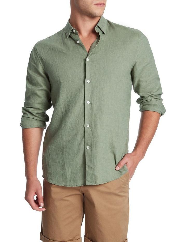 Felix Long Sleeve Linen Shirt image 2