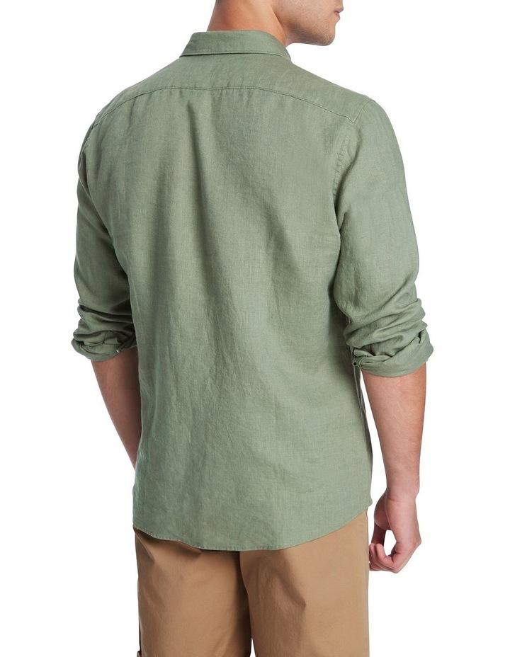 Felix Long Sleeve Linen Shirt image 3