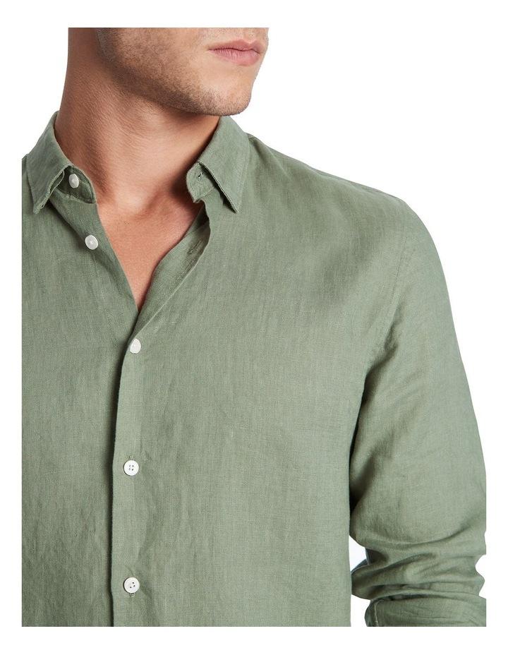 Felix Long Sleeve Linen Shirt image 4