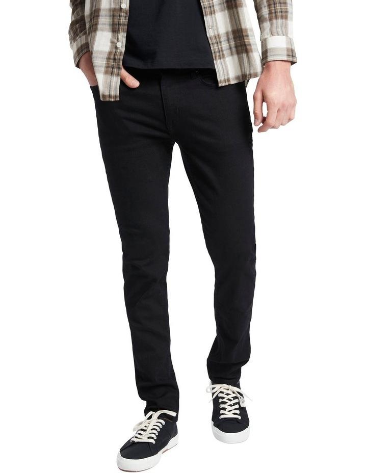 Johnny Slim Black Jean image 2