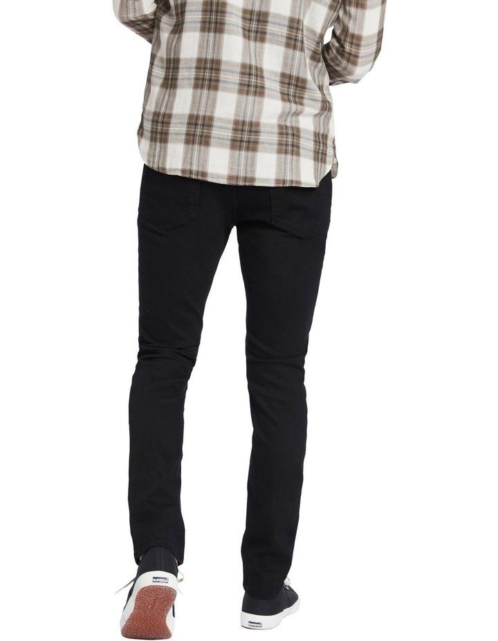 Johnny Slim Black Jean image 3