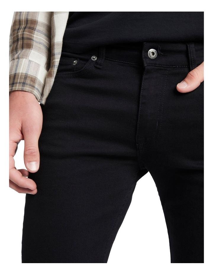 Johnny Slim Black Jean image 4
