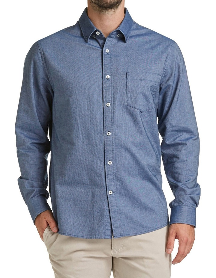 Long Sleeve Regular Oxford Shirt image 1
