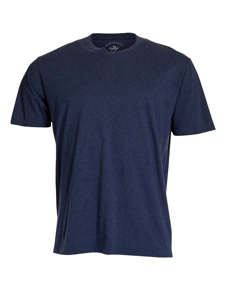 Standard Fit Cotton Tee image 9