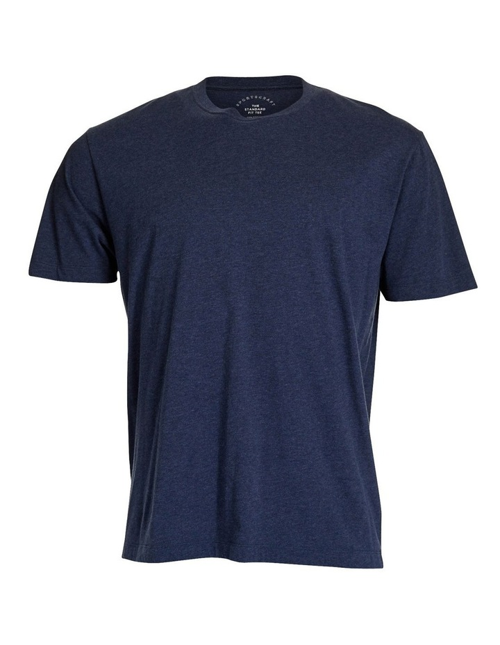 Standard Fit Cotton Tee image 10