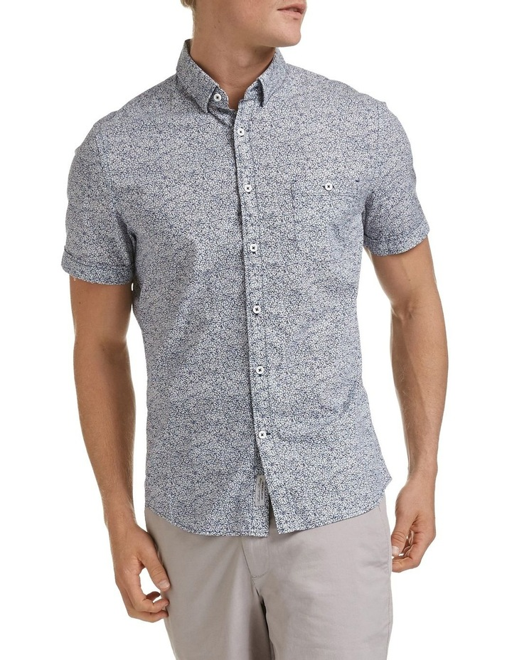 Short Sleeve Tapered Mills Floral Shirt image 1