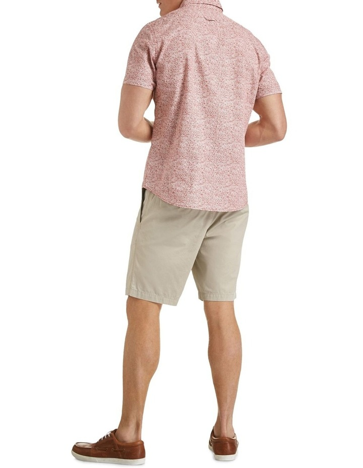 Short Sleeve Tapered Mills Floral Shirt image 3