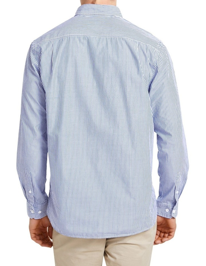Long Sleeve Regular Stripe Broadcloth Shirt image 6