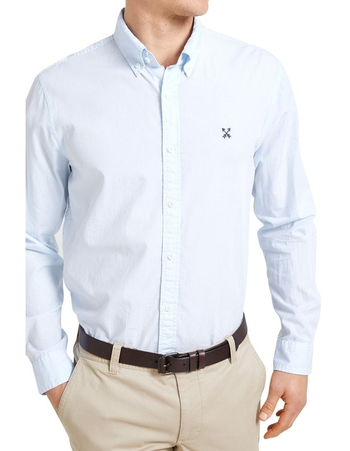 Long Sleeve Regular Broadcloth Oxford Shirt image 2