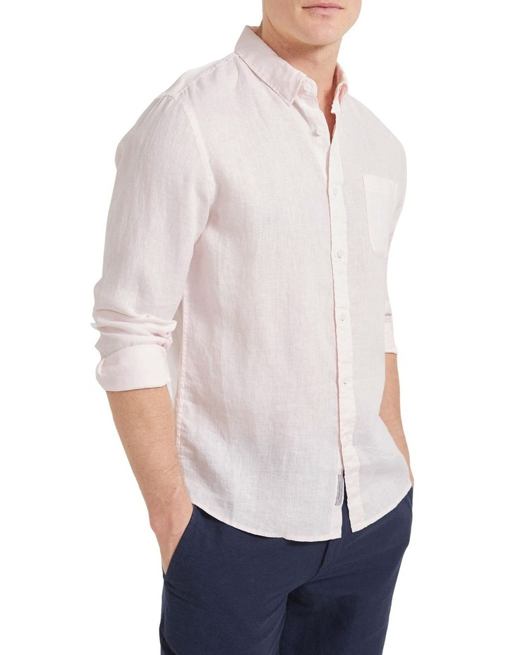 Long Sleeve Linen Shirt image 3
