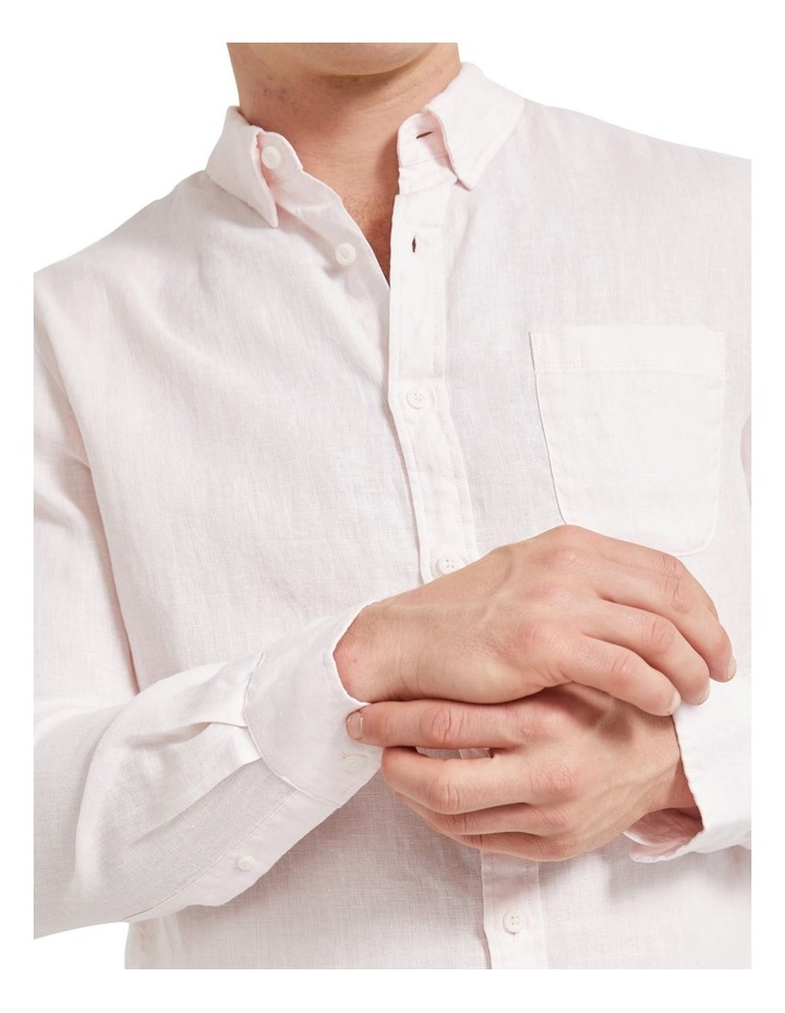 Long Sleeve Linen Shirt image 5