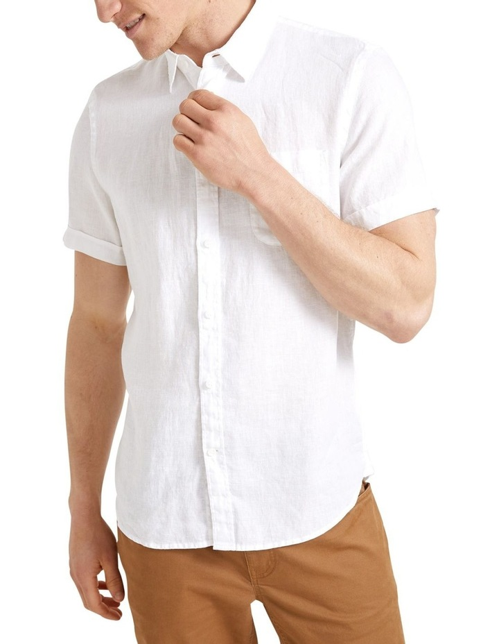 Short Sleeve Linen Shirt image 1