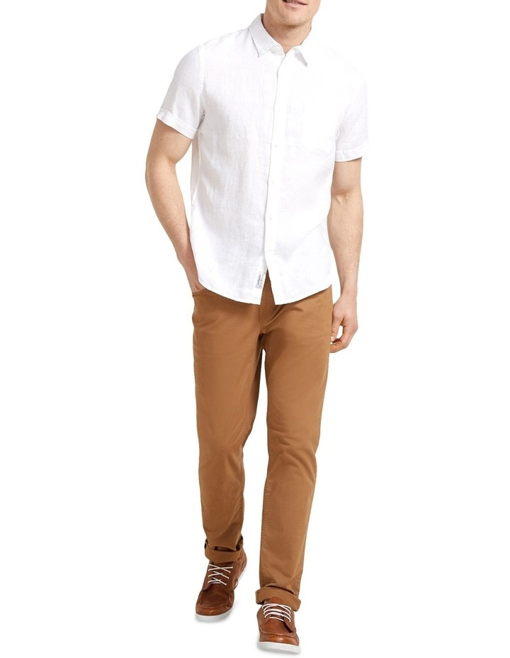 Short Sleeve Linen Shirt image 2