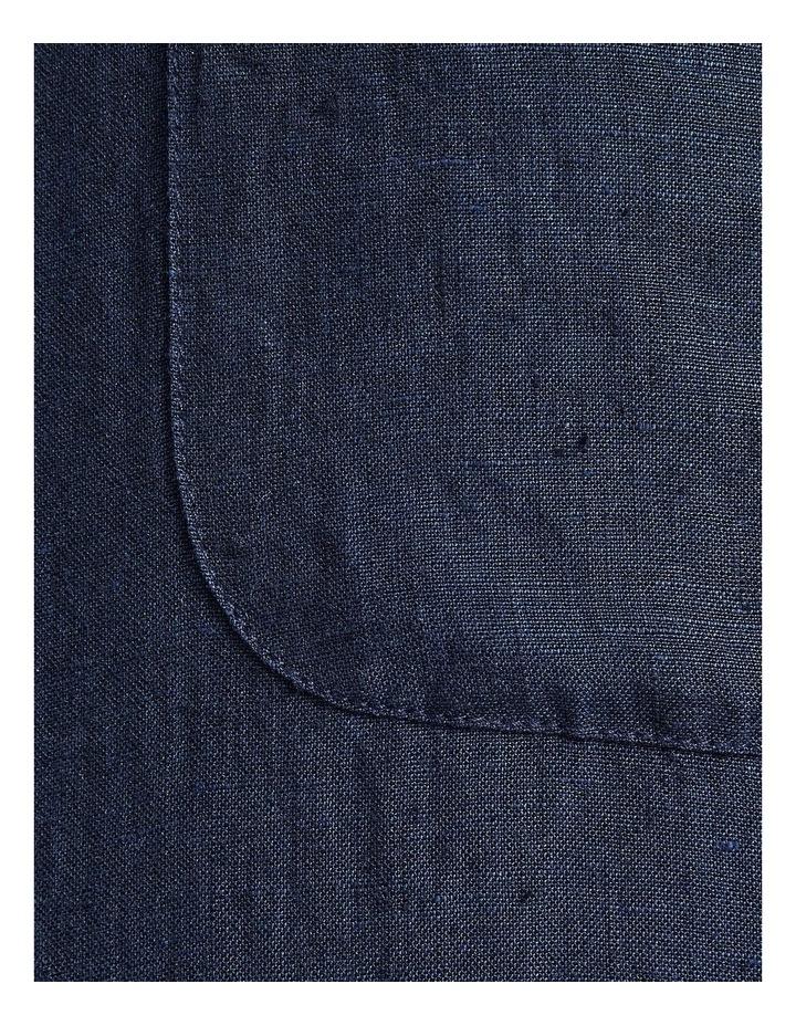 Short Sleeve Linen Shirt image 6