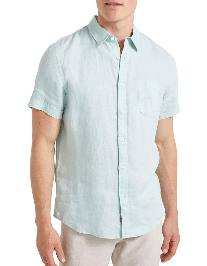 Short Sleeve Linen Shirt image 5