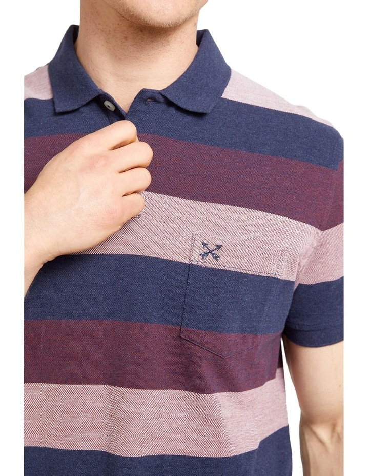 Gary Stripe Polo image 3