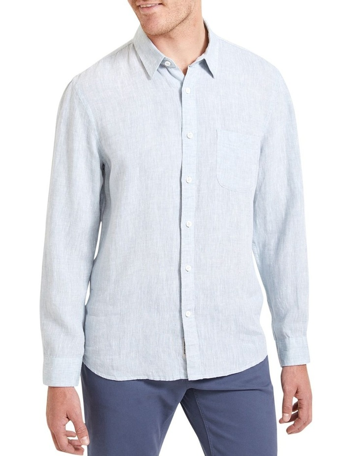Long Sleeve Linen Yd Shirt image 1