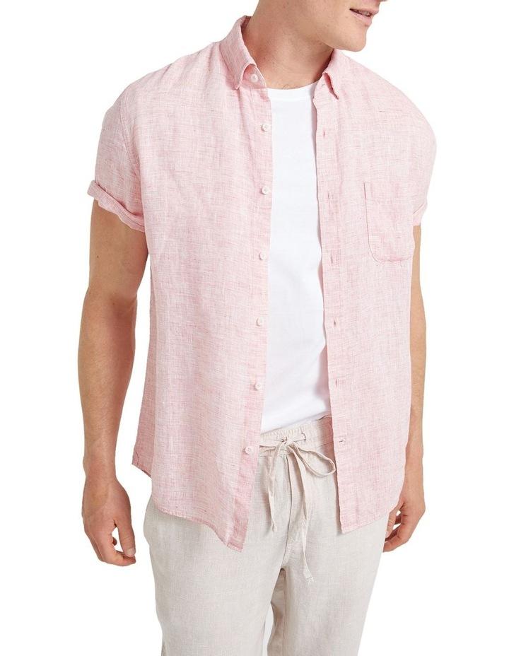 Short Sleeve Linen Yd Shirt image 1