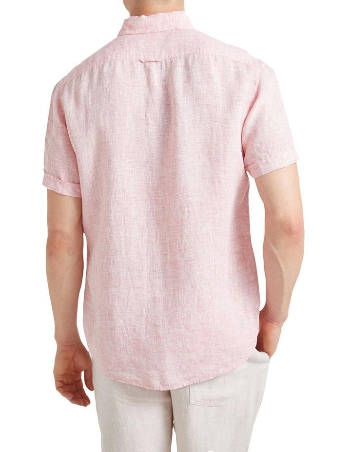 Short Sleeve Linen Yd Shirt image 2