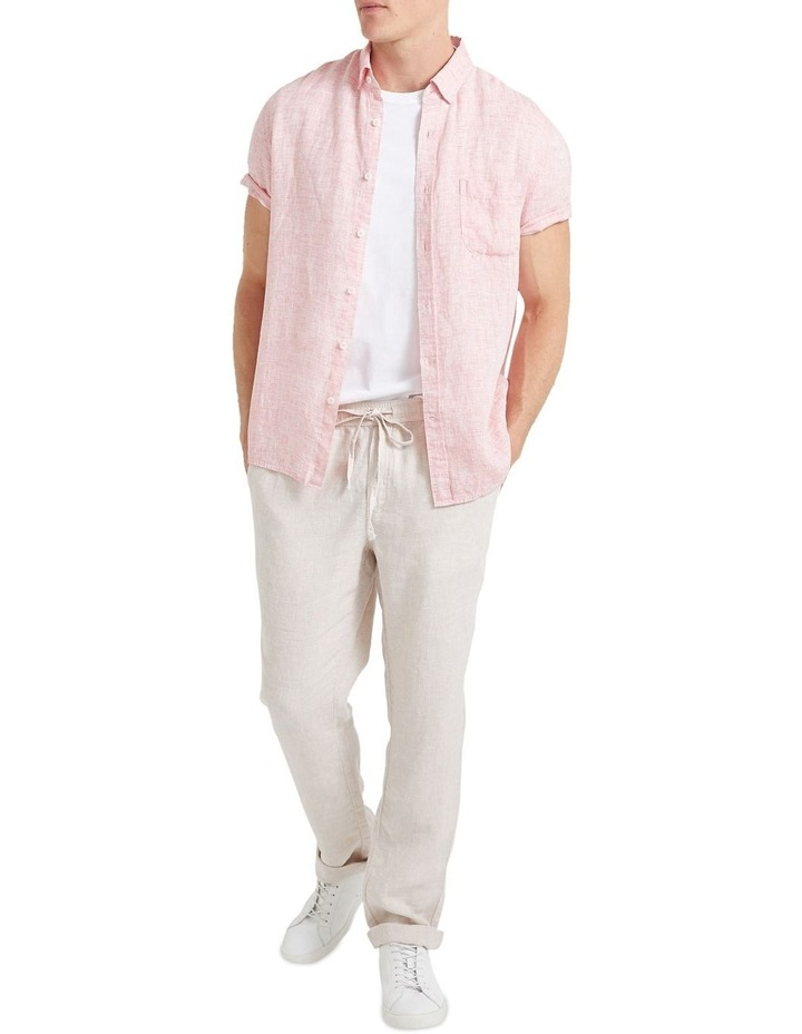 Short Sleeve Linen Yd Shirt image 3