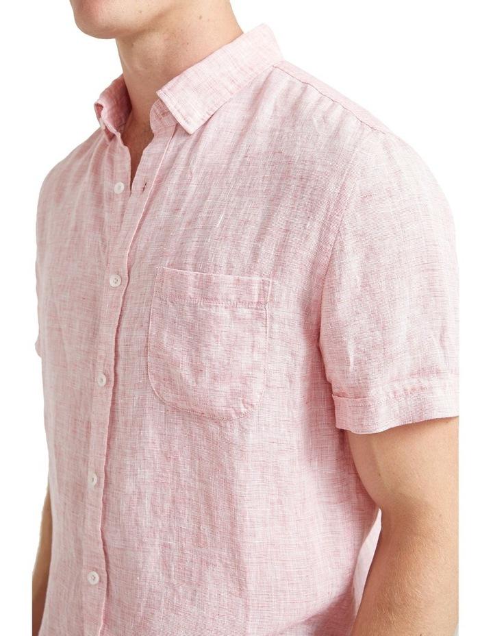 Short Sleeve Linen Yd Shirt image 4