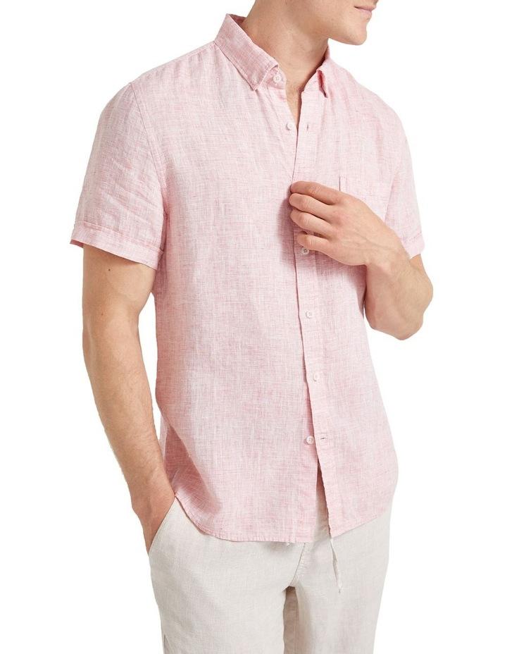 Short Sleeve Linen Yd Shirt image 5