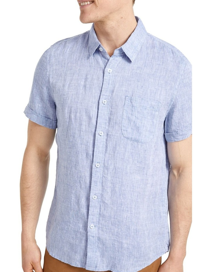 Short Sleeve Linen Yd Shirt image 1