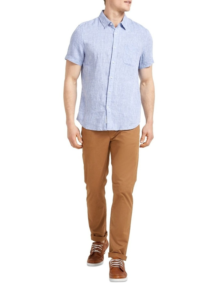 Short Sleeve Linen Yd Shirt image 2