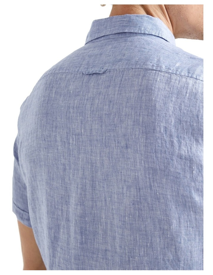 Short Sleeve Linen Yd Shirt image 4
