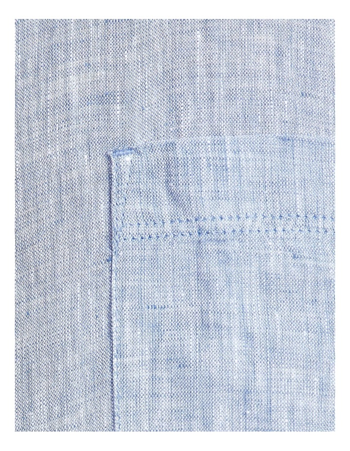Short Sleeve Linen Yd Shirt image 5