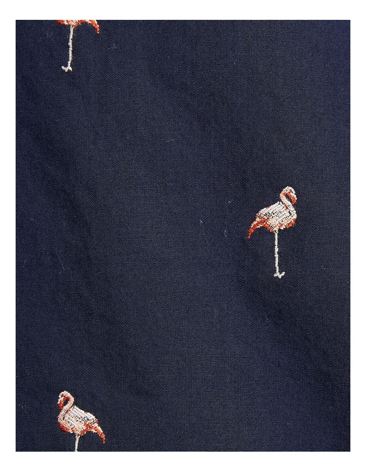 Short Sleeve Tapered Flamingo Shirt image 6