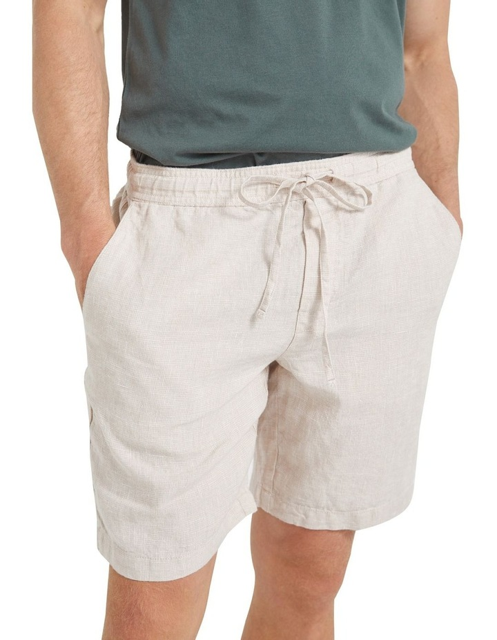 Tropic Drawstring Linen Short image 5