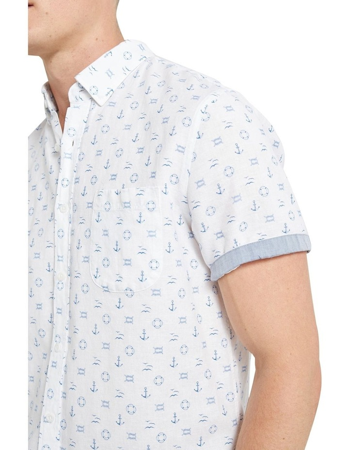 Anchor Linen Blend Print Shirt image 4