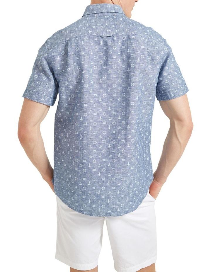 Anchor Linen Blend Print Shirt image 2