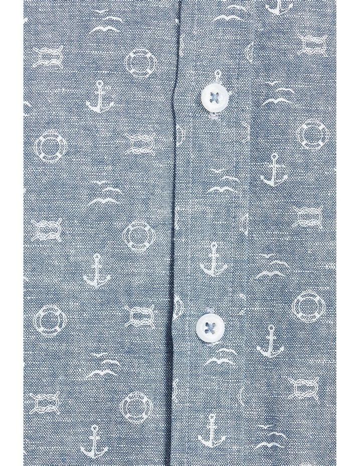 Anchor Linen Blend Print Shirt image 5