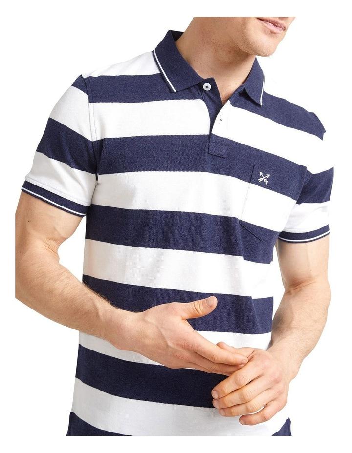 Evan Stripe Polo image 1