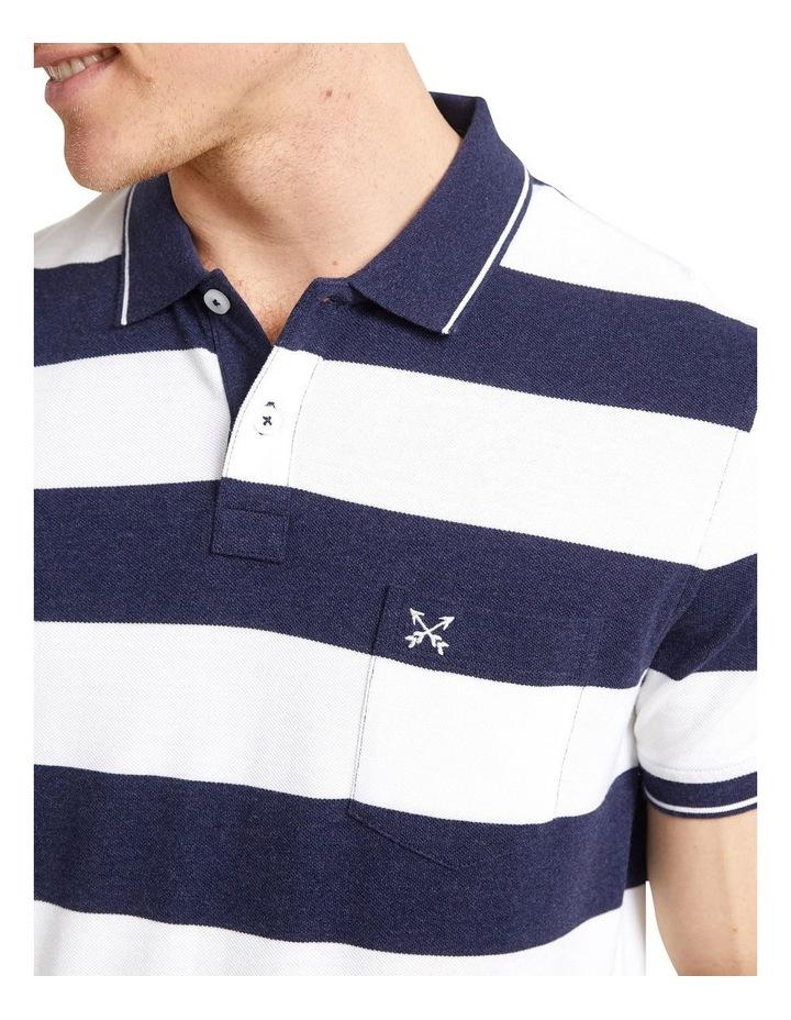 Evan Stripe Polo image 2