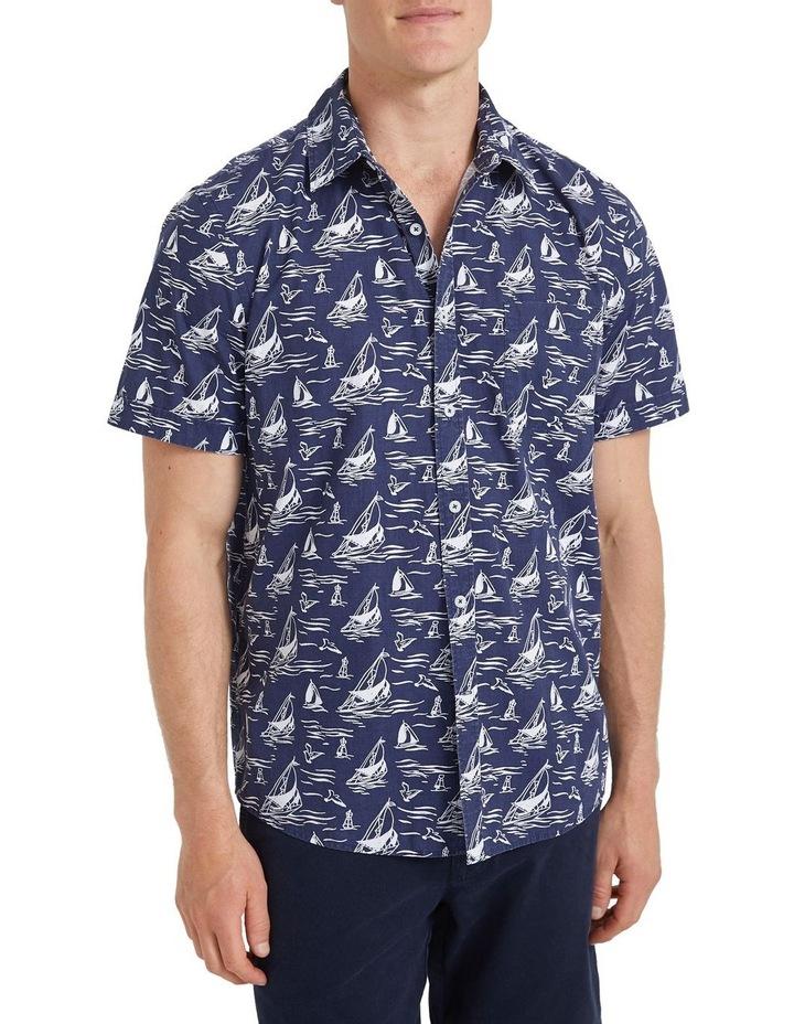 Wave Short Sleeve Print Shirt image 2