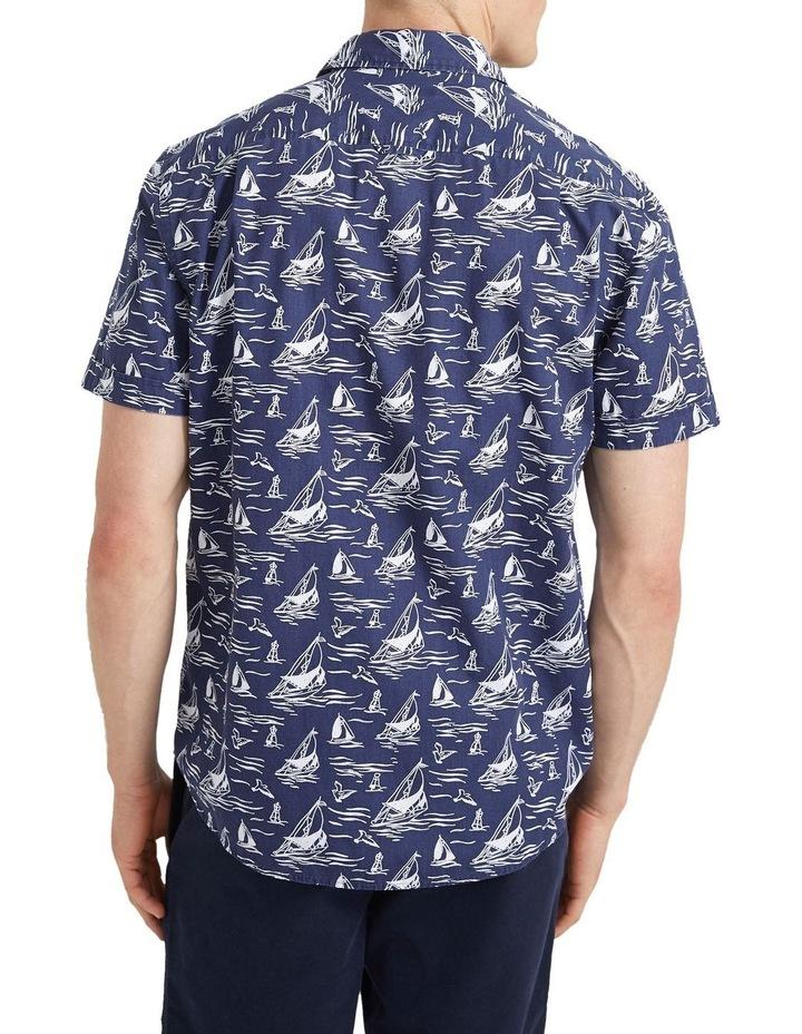 Wave Short Sleeve Print Shirt image 3