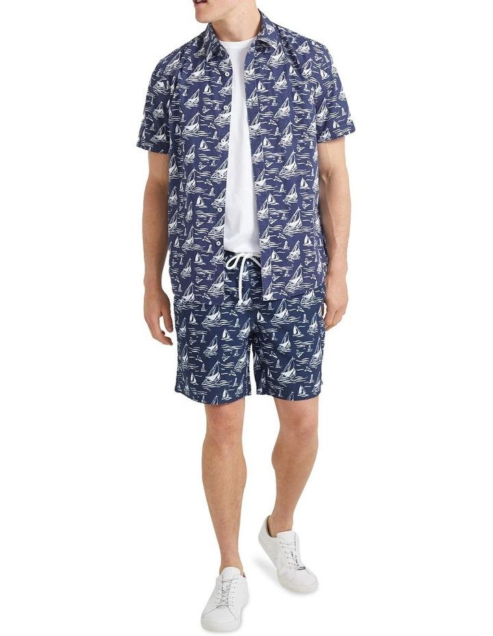 Wave Short Sleeve Print Shirt image 4