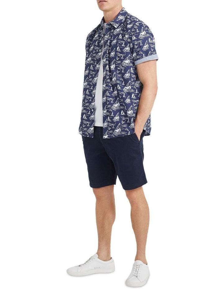 Wave Short Sleeve Print Shirt image 5