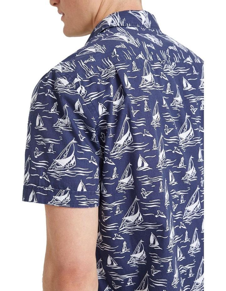 Wave Short Sleeve Print Shirt image 6