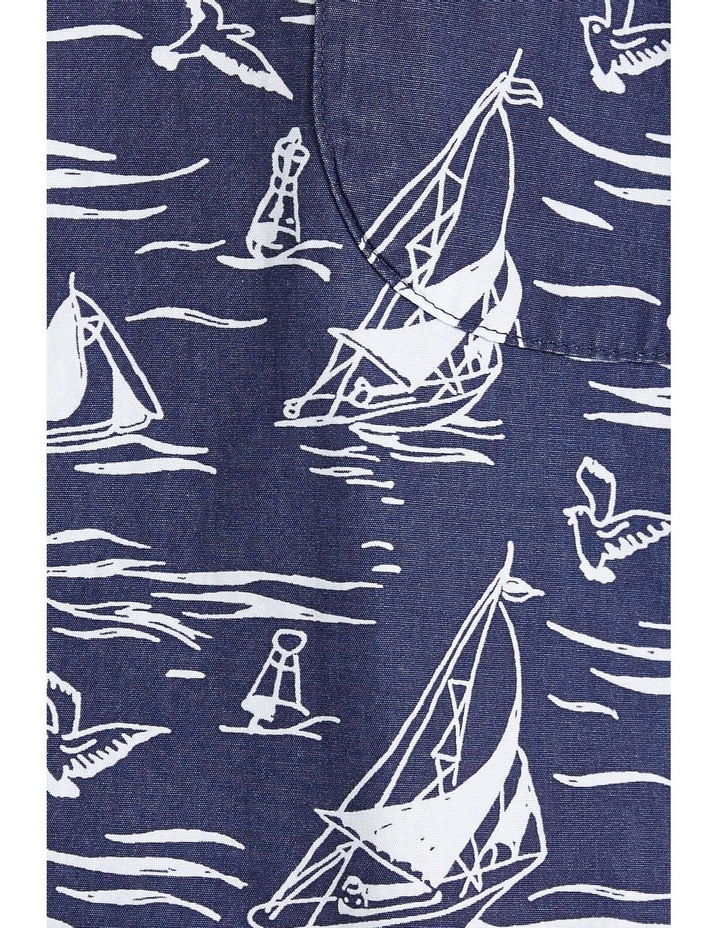Wave Short Sleeve Print Shirt image 7