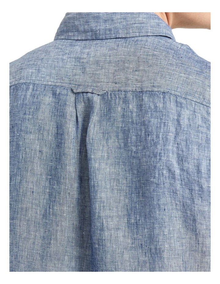 Long Sleeve Linen Shirt image 5