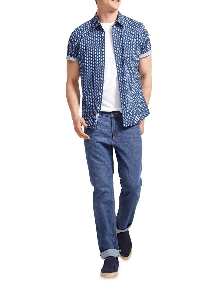 Short Sleeve Tapered Dan Shirt image 5
