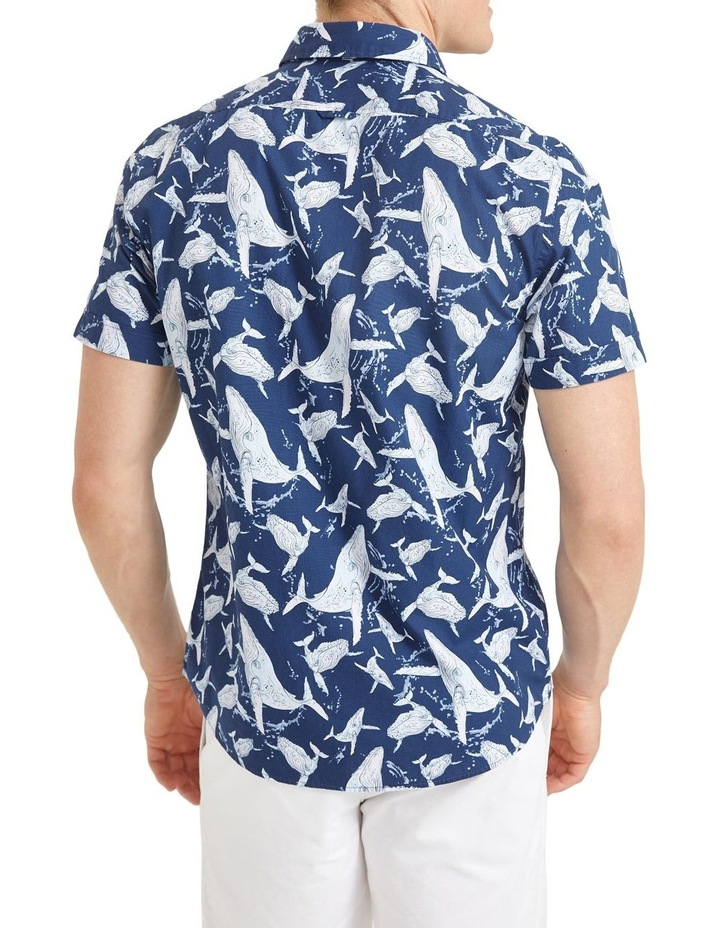 Whale Short Sleeve Print Shirt image 2